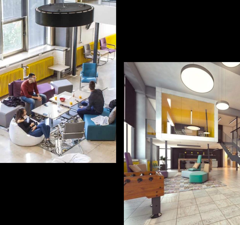 Startup centar coworking prostor u Nišu