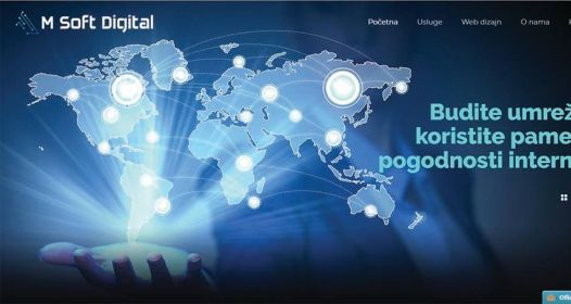 Cover slika niške IT firme M Soft Digital